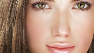 Макияж для зеленых глаз, макияж для подростков