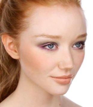 Макияж для рыжих, макияж для узких глаз с нависшим веком