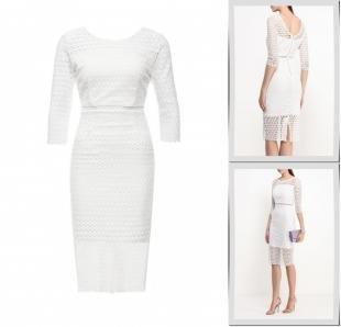 Белые платья, платье ad lib, весна-лето 2016