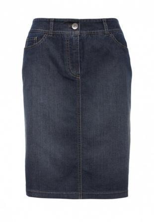 Синие юбки, юбка джинсовая gerry weber, весна-лето 2016