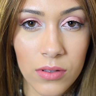 Легкий макияж для зеленых глаз, дневной макияж для выпуклых карих глаз