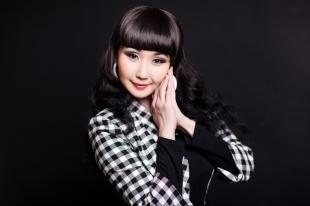 Азиатский макияж, праздничный макияж для бурятки