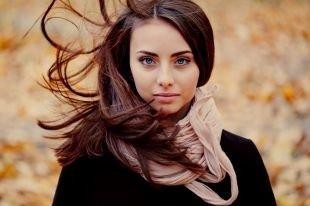 Макияж для шатенок с голубыми глазами, макияж для голубых глаз в бежевых тонах
