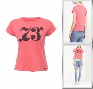 Розовые футболки, футболка pepe jeans, весна-лето 2016