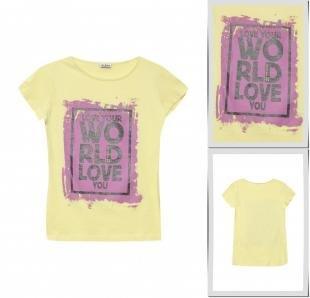 Желтые футболки, футболка blukids, весна-лето 2016