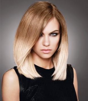 Цвет волос шоколадный блондин на средние волосы, омбре-окрашивание на светлые волосы