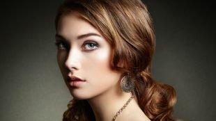 Естественный макияж, идеальный макияж для шатенок