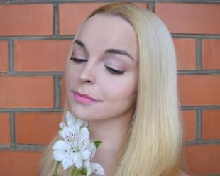 Макияж для блондинок с карими глазами, макияж для серых широко поставленных глаз