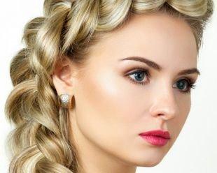 Свадебный макияж для блондинок с голубыми глазами, свадебный макияж для зеленых глаз с яркой помадой