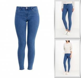 Синие джинсы, джинсы jennyfer, осень-зима 2016/2017