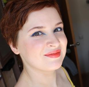 Темный макияж для рыжих, симпатичный летний макияж за 5 минут
