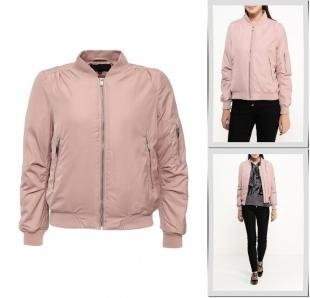 Розовые куртки, куртка утепленная qed london, осень-зима 2016/2017