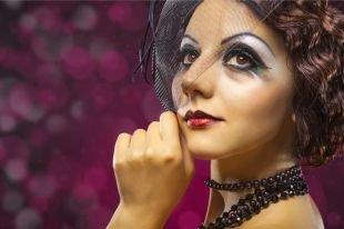 Макияж в стиле Чикаго, смелый макияж в стиле чикаго 30-х годов