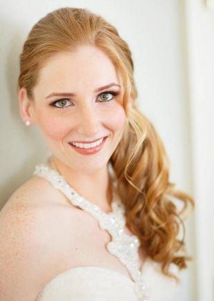 Свадебный макияж для серых глаз, свадебный макияж для зеленых глаз со светлыми тенями