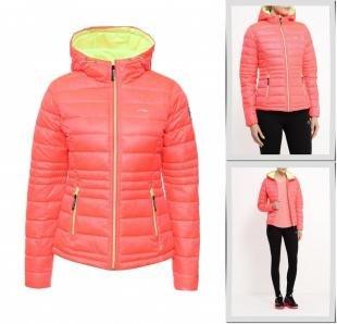 Розовые куртки, куртка утепленная li-ning, осень-зима 2016/2017