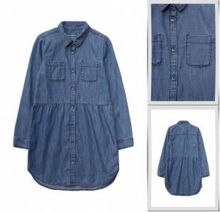 Джинсовые платья, платье джинсовое gap, осень-зима 2016/2017