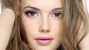 Макияж для каре-зелёных глаз, легкий макияж на выпускной