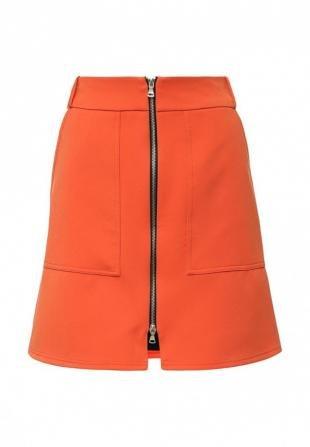 Оранжевые юбки, юбка river island, весна-лето 2016