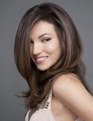 Прическа каскад, красивая каскадная стрижка на длинные волосы