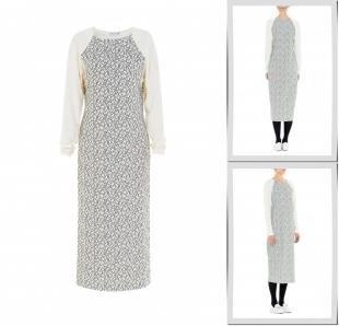Белые платья, платье bella kareema,