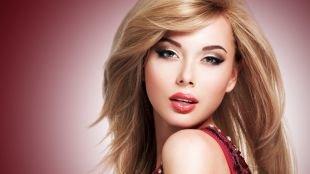 Яркий макияж для блондинок, яркий макияж для дискотеки