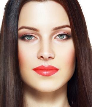 Дневной макияж, модный осенний макияж