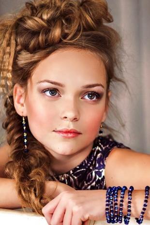 Макияж для девочек, детский макияж для фотосессии