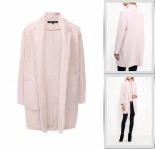 Розовые пальто, пальто top secret, осень-зима 2016/2017