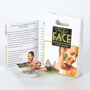 Скраб для сухой кожи, биобьюти, скраб fresh face для сухой кожи, в промоупаковке пробник, 3 гр