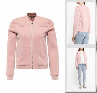 Розовые куртки, куртка topshop, осень-зима 2016/2017