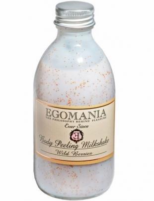 Скраб для сухой кожи тела, egomania молочко-скраб для тела дикие ягоды, 290 мл