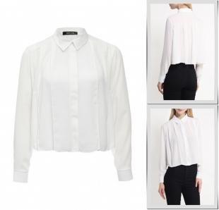 Белые блузки, блуза ad lib, весна-лето 2016