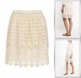 Молочные юбки, юбка ichi, весна-лето 2015
