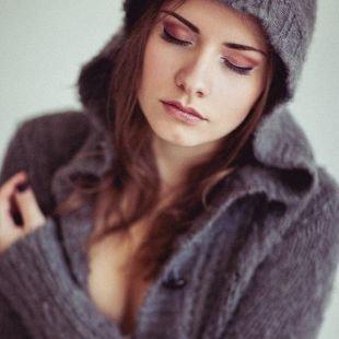 Макияж для шатенок, зимний макияж в коричневой гамме