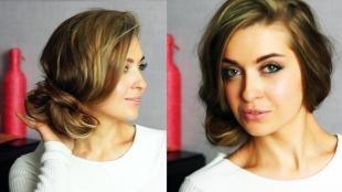 Мелирование на темные волосы на длинные волосы, простая повседневная прическа на длинные волосы