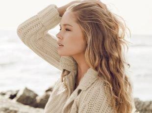 Цвет волос шоколадный блондин на длинные волосы, модное мелирование на светлые волосы