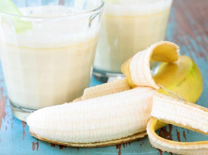 Маска из банана для комбинированной кожи лица