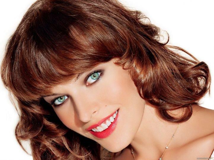 Летний макияж для зеленых глаз